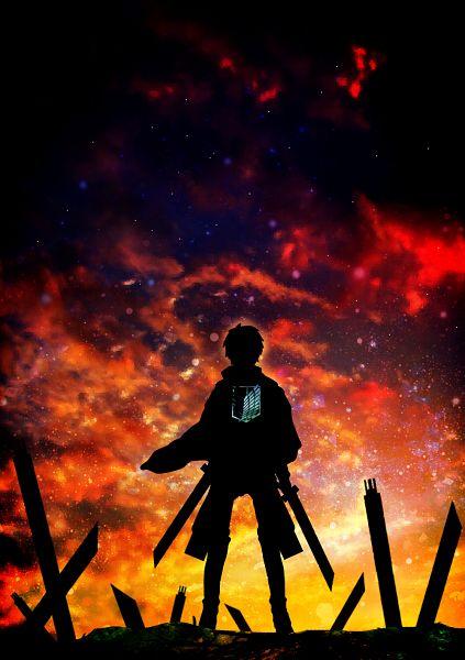 Tags: Anime, Harada Miyuki, Attack on Titan, Annie Leonhardt, Eren Jaeger, Fanart From Pixiv, Pixiv, Revision, Fanart, Mobile Wallpaper, Eren Yeager