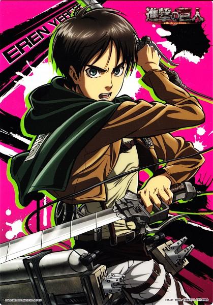 Tags: Anime, Tomita Megumi, WIT STUDIO, Attack on Titan, Eren Jaeger, Official Art, Scan, Eren Yeager