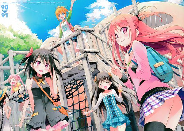Tags: Anime, Eretto, Utsura Uraraka - Eretto Art Works -, Nagisa (Kantoku), Kurumi (Kantoku), Shizuku (Kantoku), Miyaguchi Kanna, Miyaguchi Hiromi, Miyaguchi Kei, Original, Scan