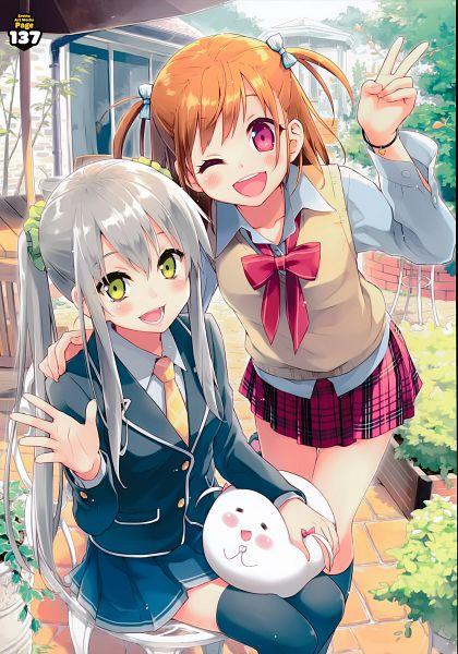 Tags: Anime, Eretto, Utsura Uraraka - Eretto Art Works -, Original, Scan
