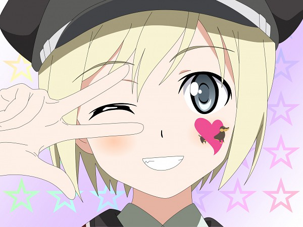 Tags: Anime, Strike Witches, Erica Hartmann