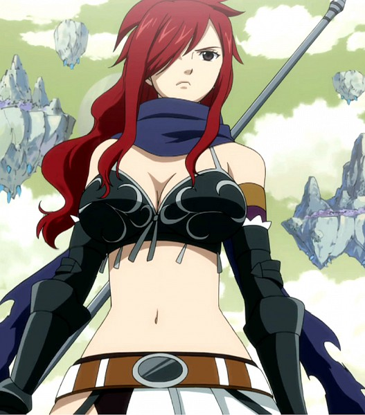 Tags: Anime, FAIRY TAIL, Erza Knightwalker, FAIRY TAIL Edolas, Screenshot
