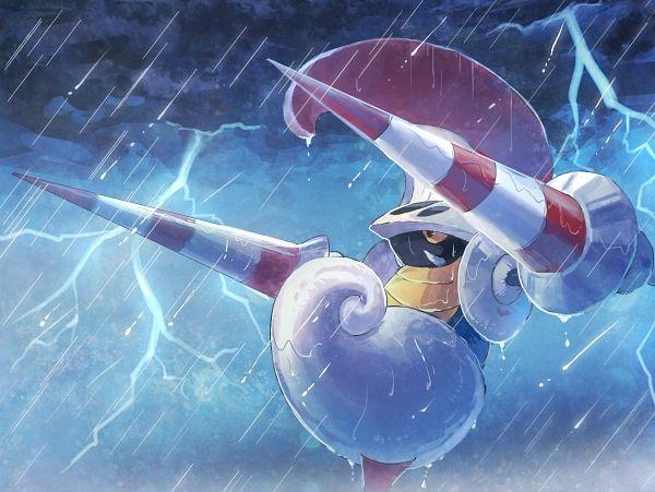 Tags: Anime, Pixiv Id 635157, Pokémon, Escavalier