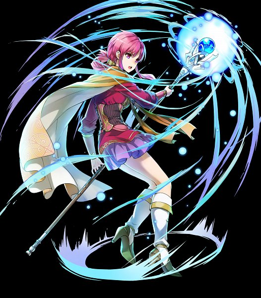 Tags: Anime, kaya8, Intelligent Systems, Fire Emblem Heroes, Ethlin (Fire Emblem), Official Art
