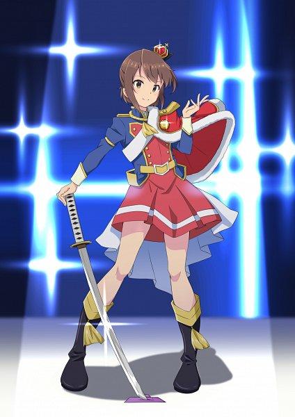 Tags: Anime, Pixiv Id 6313709, Toji no Miko, Etou Kanami, Aijou Karen (Cosplay), Shoujo☆Kageki Revue Starlight (Parody)