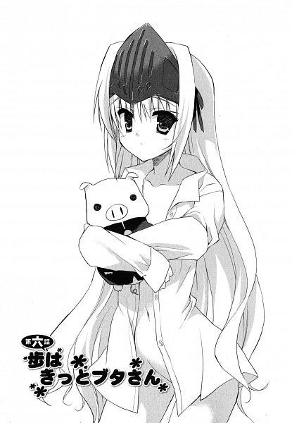 Tags: Anime, Sacchi, Kore wa Zombie Desuka, Eucliwood Hellscythe, Chapter Cover, Manga Page, Scan, Official Art