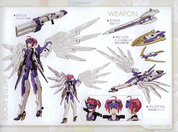 Tags: Anime, 8-bit (Studio), KONAMI (Studio), Busou Shinki, Busou Shinki Illustrations, Eukrante, Scan, Official Art