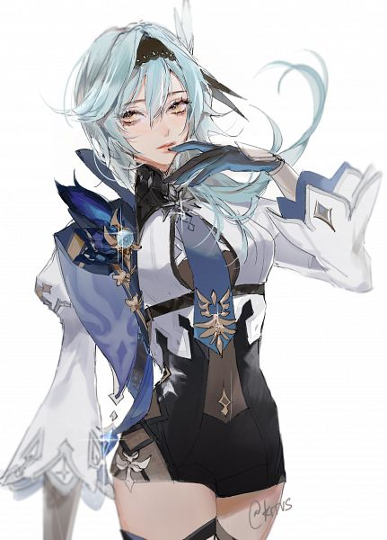 Tags: Anime, Kerravi, Genshin Impact, Eula, Twitter