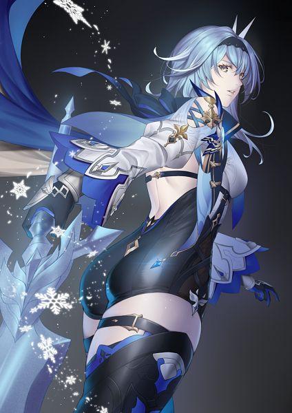 Tags: Anime, Nashoki, Genshin Impact, Eula, Pixiv, Fanart, Fanart From Pixiv