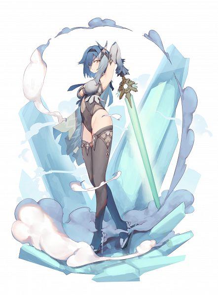 Tags: Anime, Pixiv Id 13915926, Genshin Impact, Eula, Fog