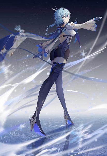 Tags: Anime, Pixiv Id 8483692, Genshin Impact, Eula