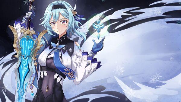 Tags: Anime, Pixiv Id 18345858, Genshin Impact, Eula