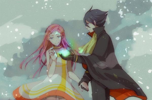 Tags: Anime, Eureka Seven, Anemone (Eureka Seven), Dominic Sorel