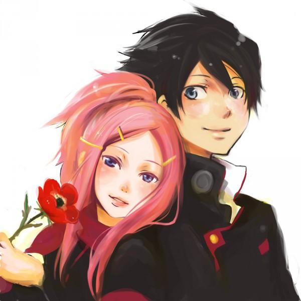 Tags: Anime, Eureka Seven, Dominic Sorel, Anemone (Eureka Seven), Anemone (Flower)
