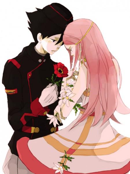 Tags: Anime, Tsuda, Eureka Seven, Dominic Sorel, Anemone (Eureka Seven), Anemone (Flower)