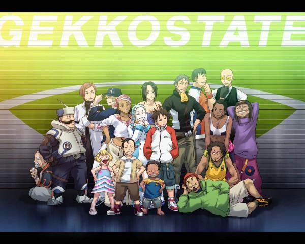 Tags: Anime, Eureka Seven, Moondoggie, Woz, Renton Thurston, Matthieu, Gidget, Jobs, Linck, Hap, Talho Yuuki, Ken-Goh, Maeter