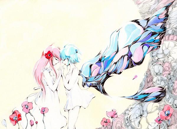 Tags: Anime, Charmal, Eureka Seven, Anemone (Eureka Seven), Eureka, Pixiv, deviantART, Wallpaper, Traditional Media