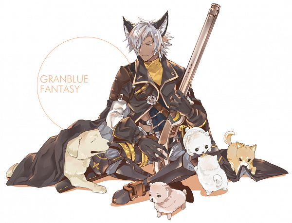 Tags: Anime, Pixiv Id 13185269, Granblue Fantasy, Eustace (Granblue Fantasy), PNG Conversion