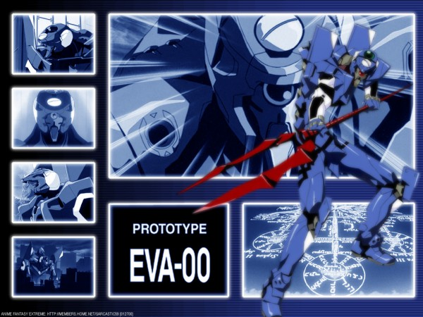 Eva 00 - Neon Genesis Evangelion