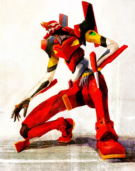 Tags: Anime, Hironox, Neon Genesis Evangelion, Eva 02