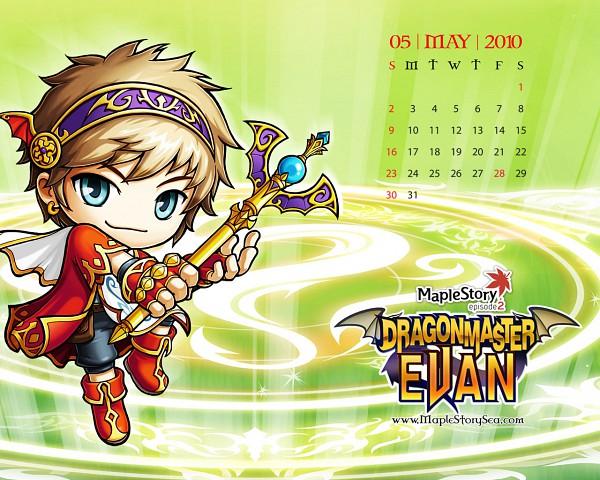 Tags: Anime, Nexon, MapleStory, Evan (MapleStory), Wallpaper