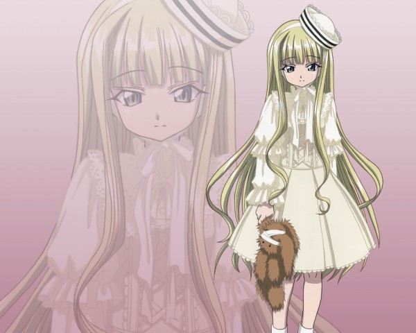Tags: Anime, Mahou Sensei Negima!, Evangeline A.K. McDowell