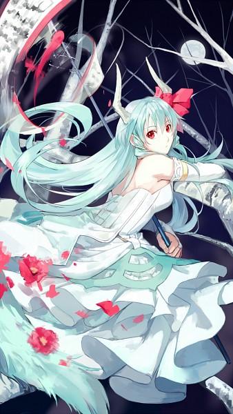 Tags: Anime, Fancybetty, Touhou, Ex Keine, Kamishirasawa Keine, Fanart From Pixiv, Fanart, Pixiv, Mobile Wallpaper