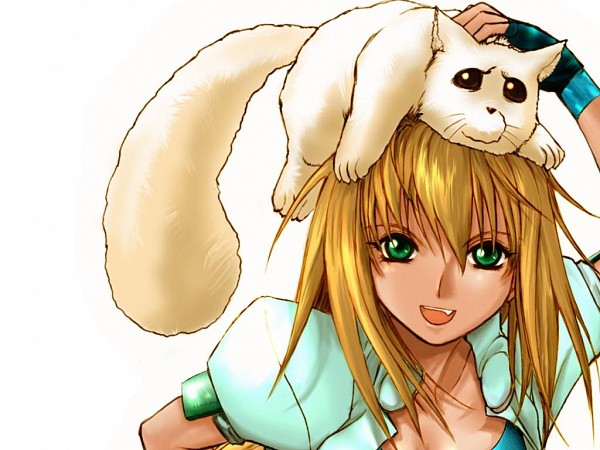 Tags: Anime, Excel♥Saga, Excel, Menchi, Wallpaper