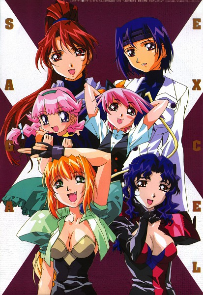 Tags: Anime, Excel♥Saga, Excel, Hyatt