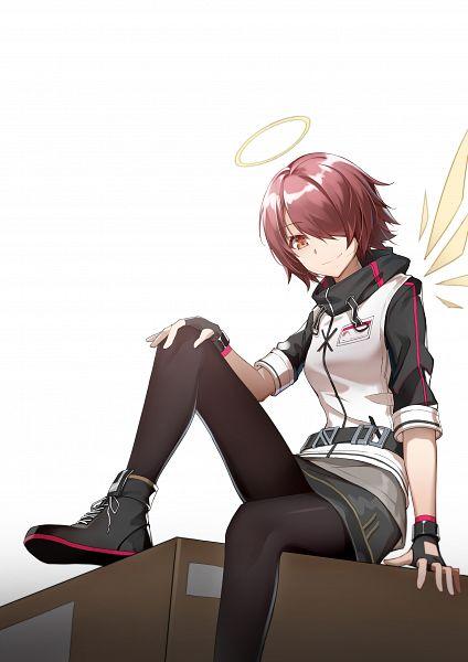 Tags: Anime, Pixiv Id 20435316, Arknights, Exusiai