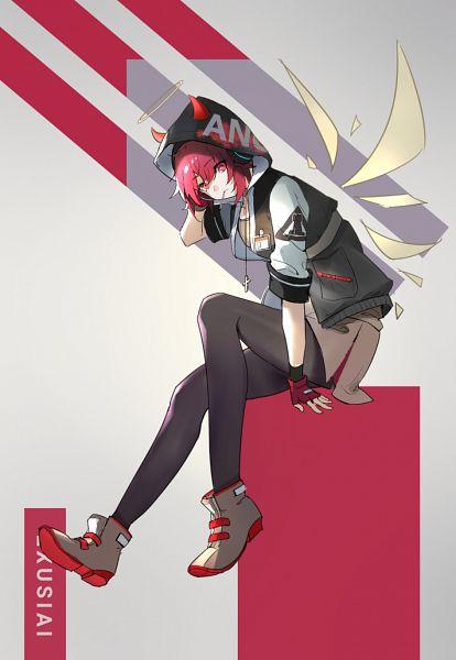 Tags: Anime, Pixiv Id 6352306, Arknights, Exusiai