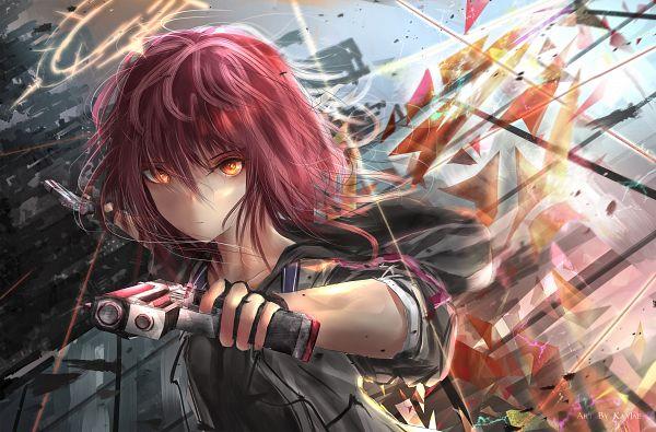 Tags: Anime, Pixiv Id 8996587, Arknights, Exusiai