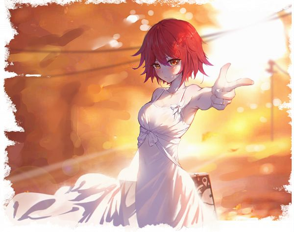 Tags: Anime, Pixiv Id 5662397, Arknights, Exusiai