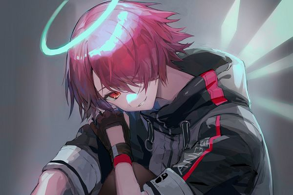 Tags: Anime, Pixiv Id 3380078, Arknights, Exusiai