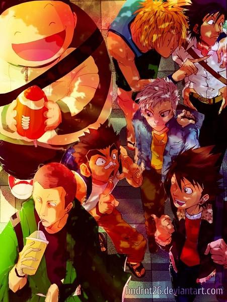Tags: Anime, Eyeshield 21, Kaitani Riku, Kotaro Sasaki, Kobayakawa Sena, Ryokan Kurita, Kongo Unsui, Raimon Taro, Kengo Mizumachi, deviantART