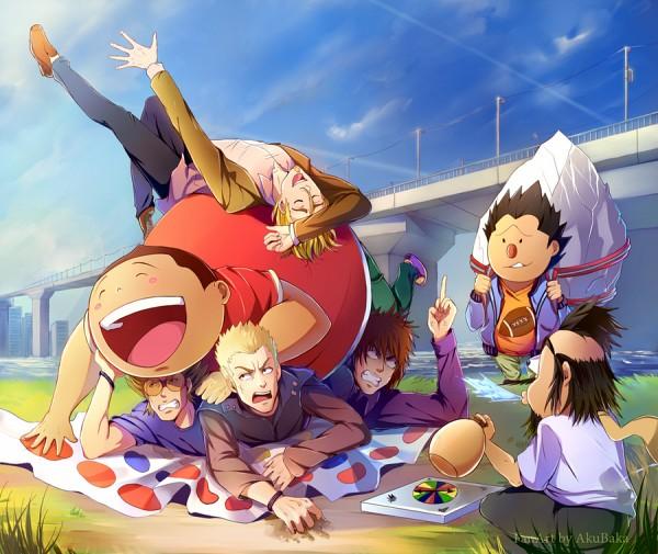 Tags: Anime, Akubaka, Eyeshield 21, Shozo Togano, Ryokan Kurita, Jumonji Kazuki, Daikichi Komusubi, Koji Kuroki, Twister