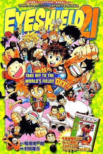 Tags: Anime, Eyeshield 21, Shin Megami Tensei: PERSONA 4, Hiruma Yoichi, Koji Kuroki, Raimon Taro, Kotaro Sasaki, Shozo Togano, Kongo Agon, Taki Suzuna, Kobayakawa Sena, Reiji Marco, Taka Honjou