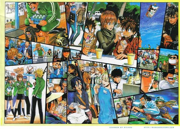 Tags: Anime, Eyeshield 21, Hiruma Yoichi, Haruto Sakuraba, Kengo Mizumachi, Raimon Taro, Rui Habashira, Taki Suzuna, Kobayakawa Sena, Shin Seijuro, Anezaki Mamori