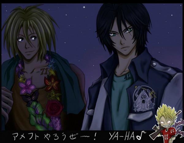 Tags: Anime, Eyeshield 21, Hiruma Yoichi, Kengo Mizumachi, Shun Kakei