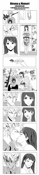 Tags: Anime, Milady666, Eyeshield 21, Anezaki Mamori, Hiruma Yoichi