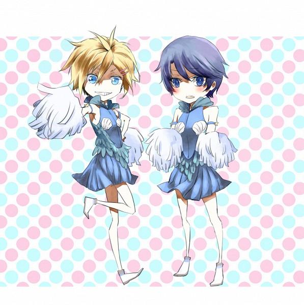 Tags: Anime, Pixiv Id 990860, Eyeshield 21, Kengo Mizumachi, Shun Kakei, Pixiv, Fanart