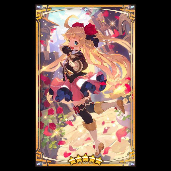 Tags: Anime, Hajime (Hajime-ill-1st), Nintendo, Cygames, Dragalia Lost, Ezelith, Official Art, Official Card Illustration