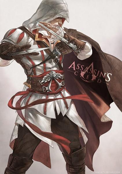 Tags: Anime, Virus Ac74, Assassin's Creed, Assassin's Creed II, Ezio Auditore Da Firenze, Mobile Wallpaper, deviantART, Fanart