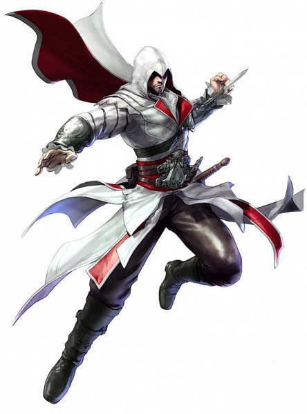 Tags: Anime, Assassin's Creed II, Soul Calibur, Ezio Auditore Da Firenze