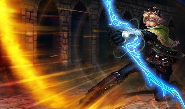 Tags: Anime, League of Legends, Ezreal, Official Art