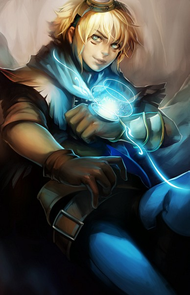 Tags: Anime, ippus, League of Legends, Ezreal, Fanart, Mobile Wallpaper