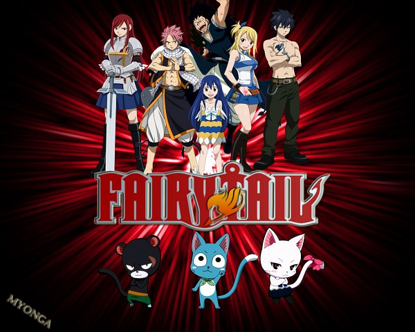 Tags: Anime, FAIRY TAIL, Gajeel Redfox, Gray Fullbuster, Charle, Natsu Dragneel, Happy (FAIRY TAIL), Wendy Marvell, Erza Scarlet, Pantherlily, Lucy Heartfilia