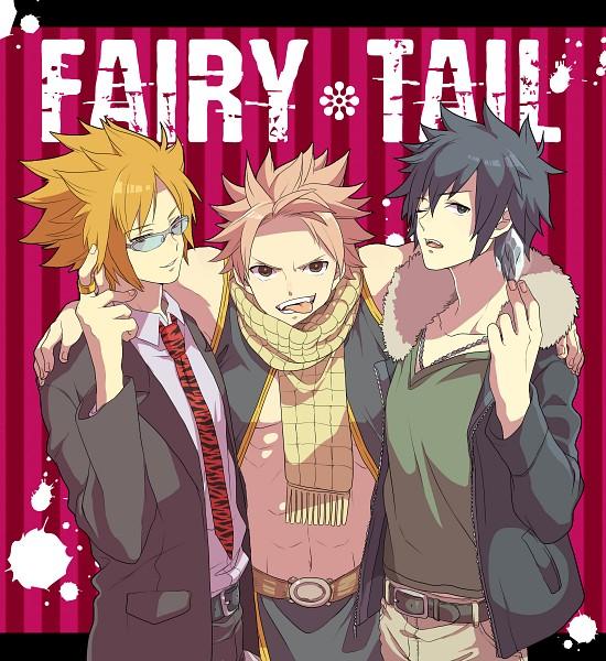 Tags: Anime, Niwatorisann, FAIRY TAIL, Loki (FAIRY TAIL), Gray Fullbuster, Natsu Dragneel, Fanart, Pixiv, PNG Conversion, Celestial Spirits