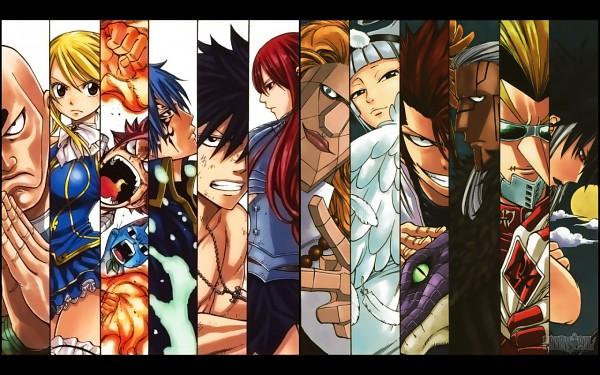 Tags: Anime, Mashima Hiro, FAIRY TAIL, Happy (FAIRY TAIL), Midnight (FAIRY TAIL), Erza Scarlet, Lucy Heartfilia, Angel (FAIRY TAIL), Kinana, Gray Fullbuster, Jellal Fernandes, Brain (FAIRY TAIL), Natsu Dragneel