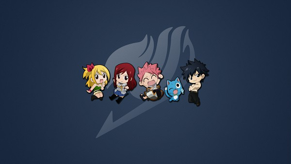 Tags: Anime, FAIRY TAIL, Happy (FAIRY TAIL), Erza Scarlet, Lucy Heartfilia, Gray Fullbuster, Natsu Dragneel, Wallpaper, HD Wallpaper, Facebook Cover
